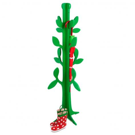Green Tree Coat Hanger