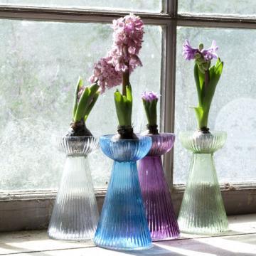 Nkuku Hyacinth Bulb Vase - Light Green