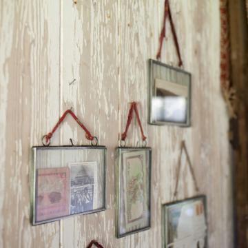 Kiko Antique Zinc Frame by Nkuku