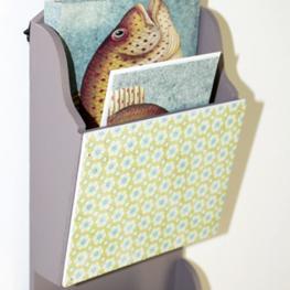 Paisley letter rack