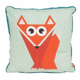 Geo Forest Fox cushion