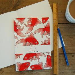 Goldfish A5 note pad