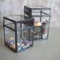 Nkuku Oni Chalk Board Box - Clear - Large
